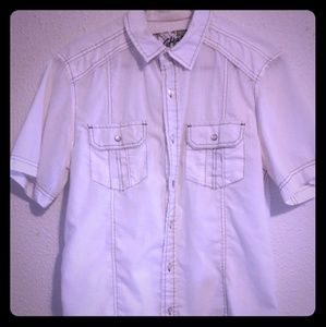 Chalc - white button-down